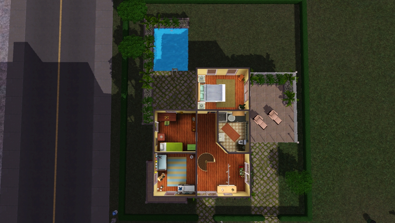 Simcosmos Hauser Sims Und Andere Kreationen The Sims German