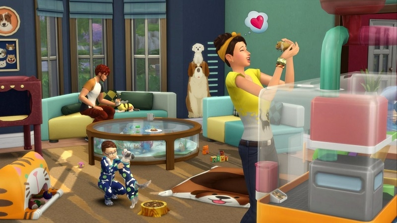 Die Sims 4 Mein erstes Haustier-Accessoires — The Sims German