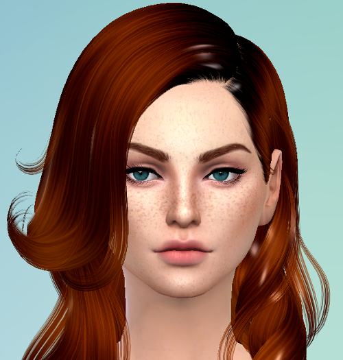 CC Hair is shiny looking like plastic — The Sims Forums