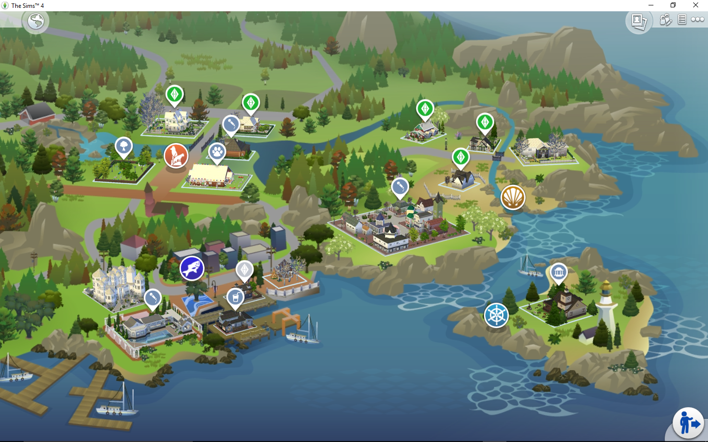 Albero Di Natale The Sims 3.Citta Del Sim Natale The Sims Italian