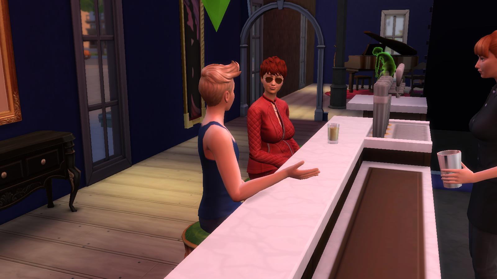 Sims 4 randki ponury żniwiarz