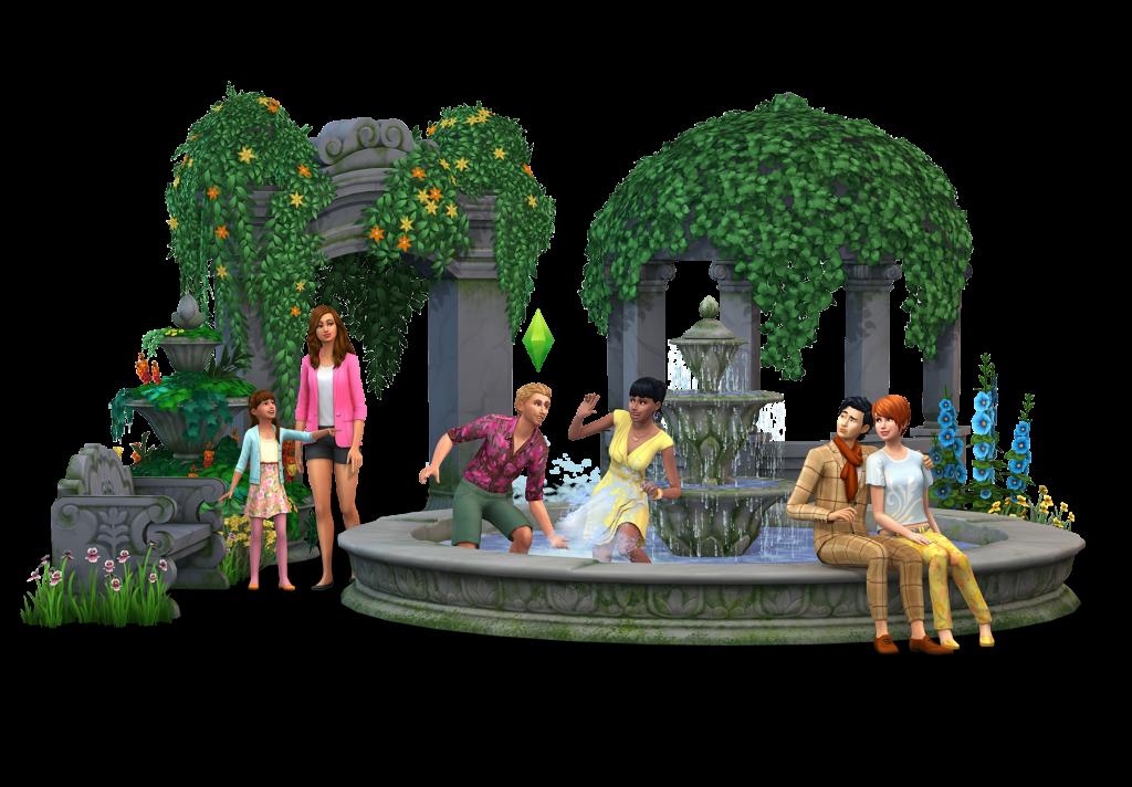 The sims 4 jardim rom ntico cole o de objetos p gina for Sims 4 jardin romantico