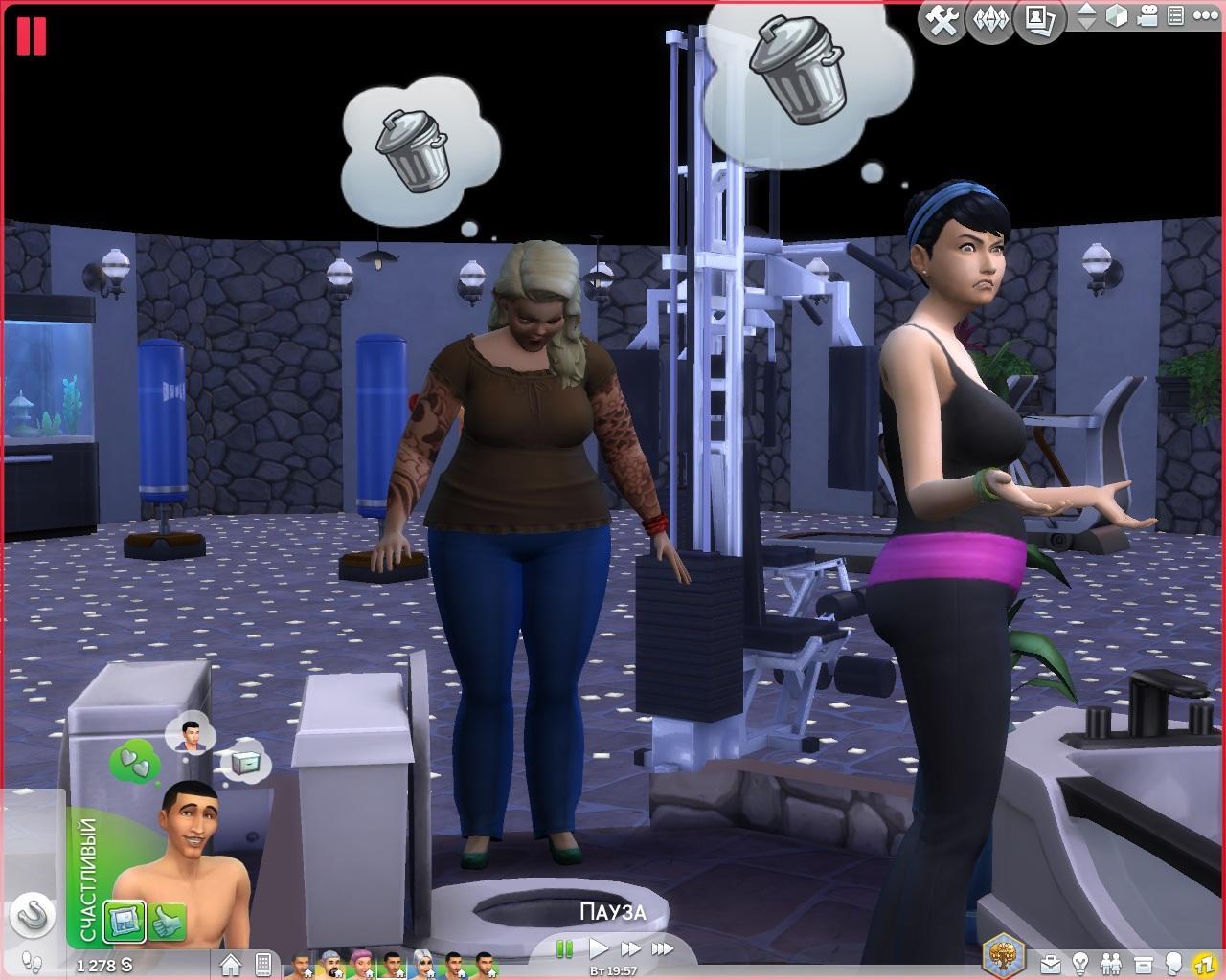 Sims 4 сказать тост