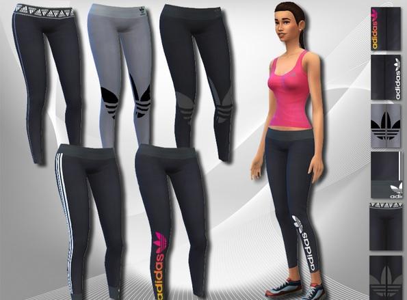 ropa adidas sims 4