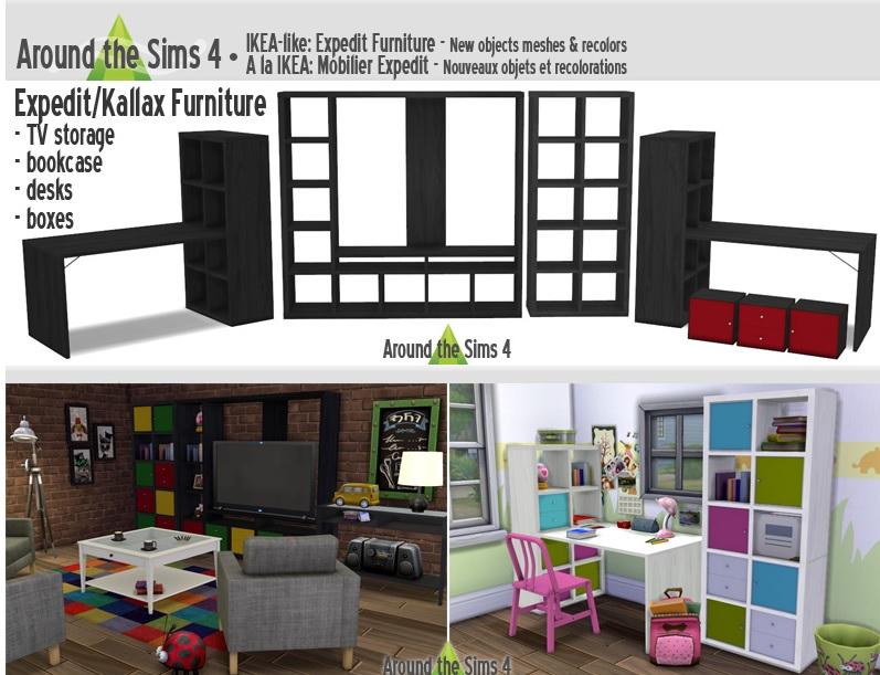 Objetos muebles decorativos luces electronicos etc for Mods sims 4 muebles