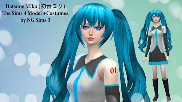 Contenido Anime Manga Videojuegos Comics Para Los Sims