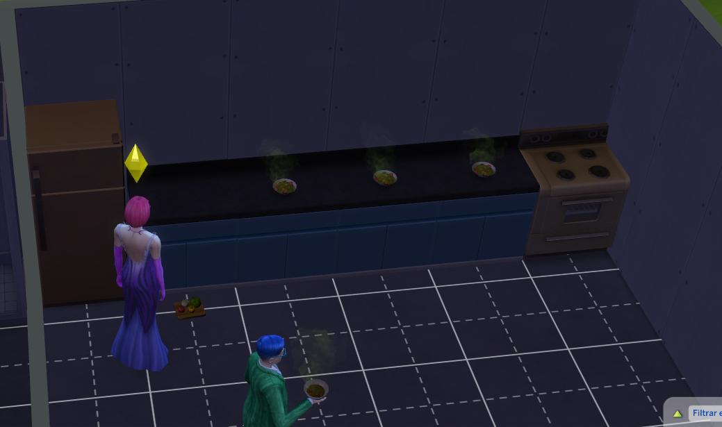 Problemas con los muebles de cocina soluccionado the for Muebles de cocina sims 4