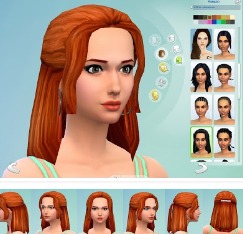 peinados sims4 — the sims spanish