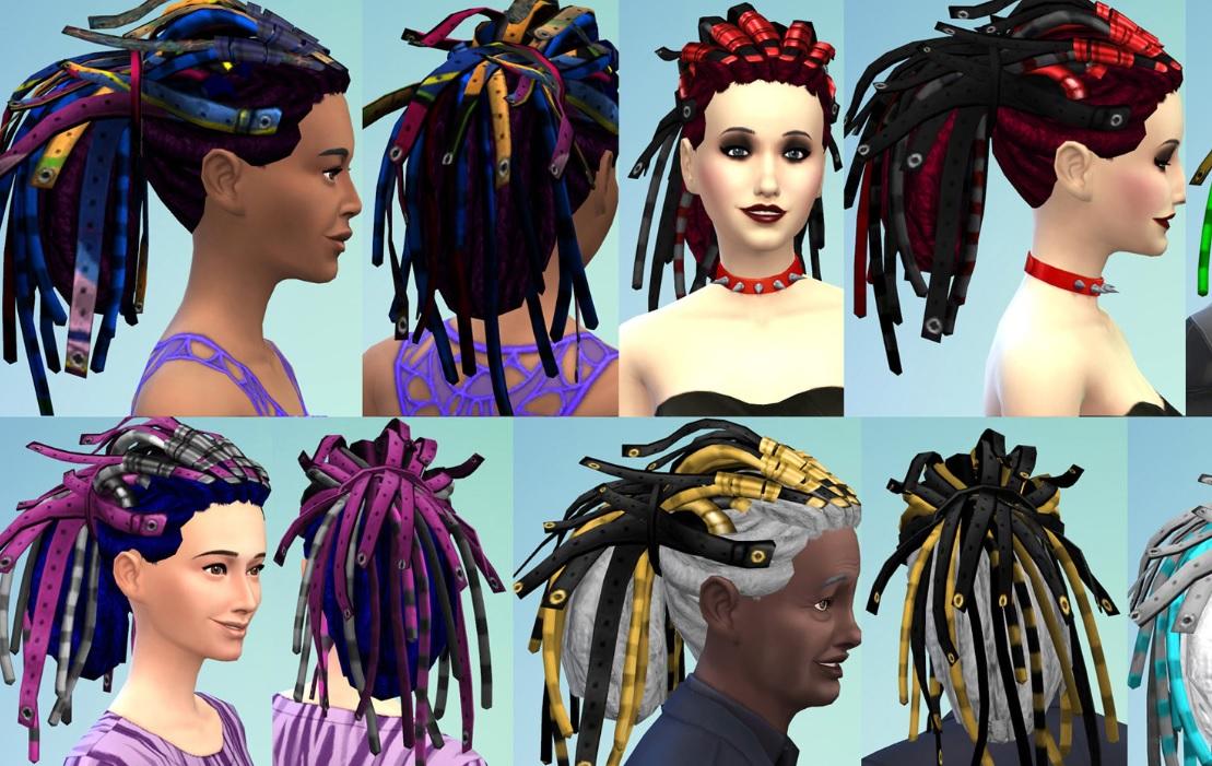 Instalar peinados sims 4