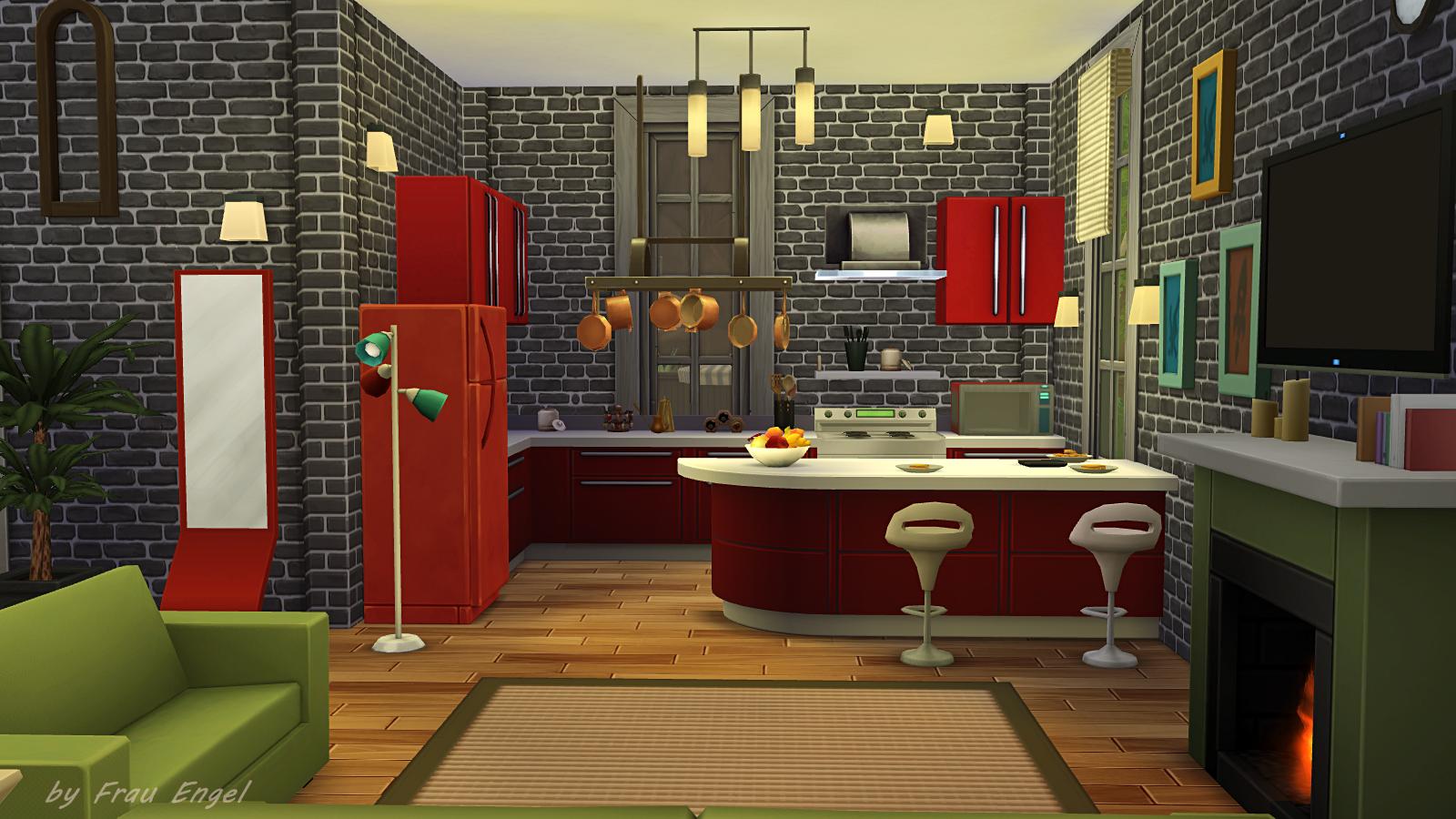 Increíble Sims 3 Crear Isla De Cocina Componente - Como Decorar la ...