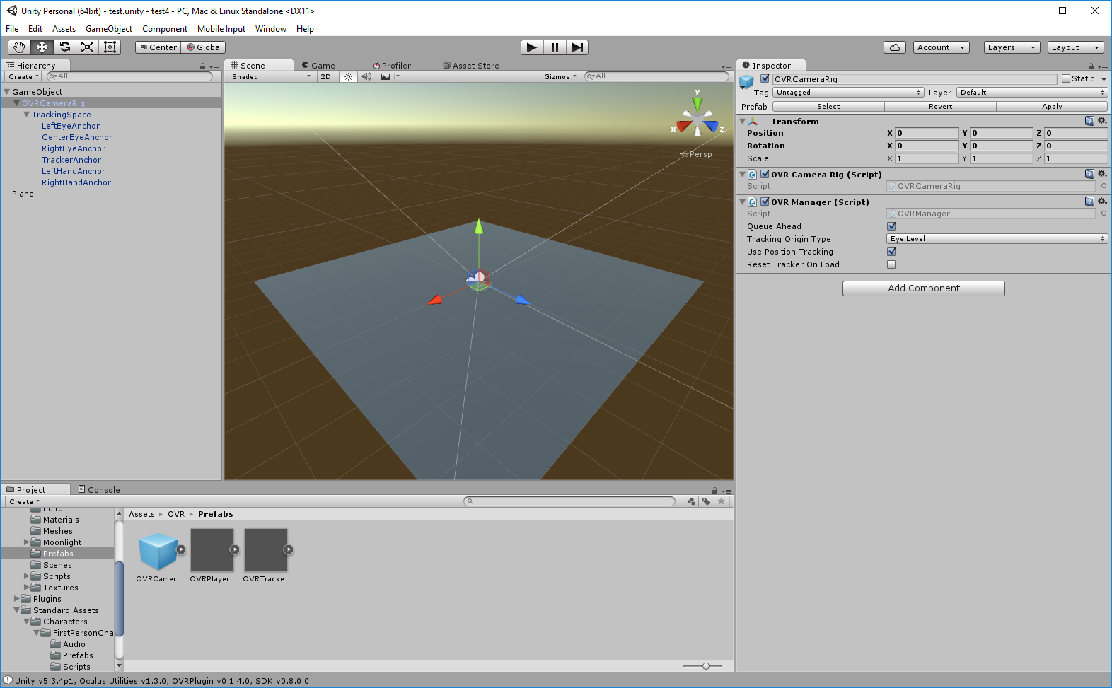 Use mouse to control Oculus scene -- problems with Y axis — Oculus