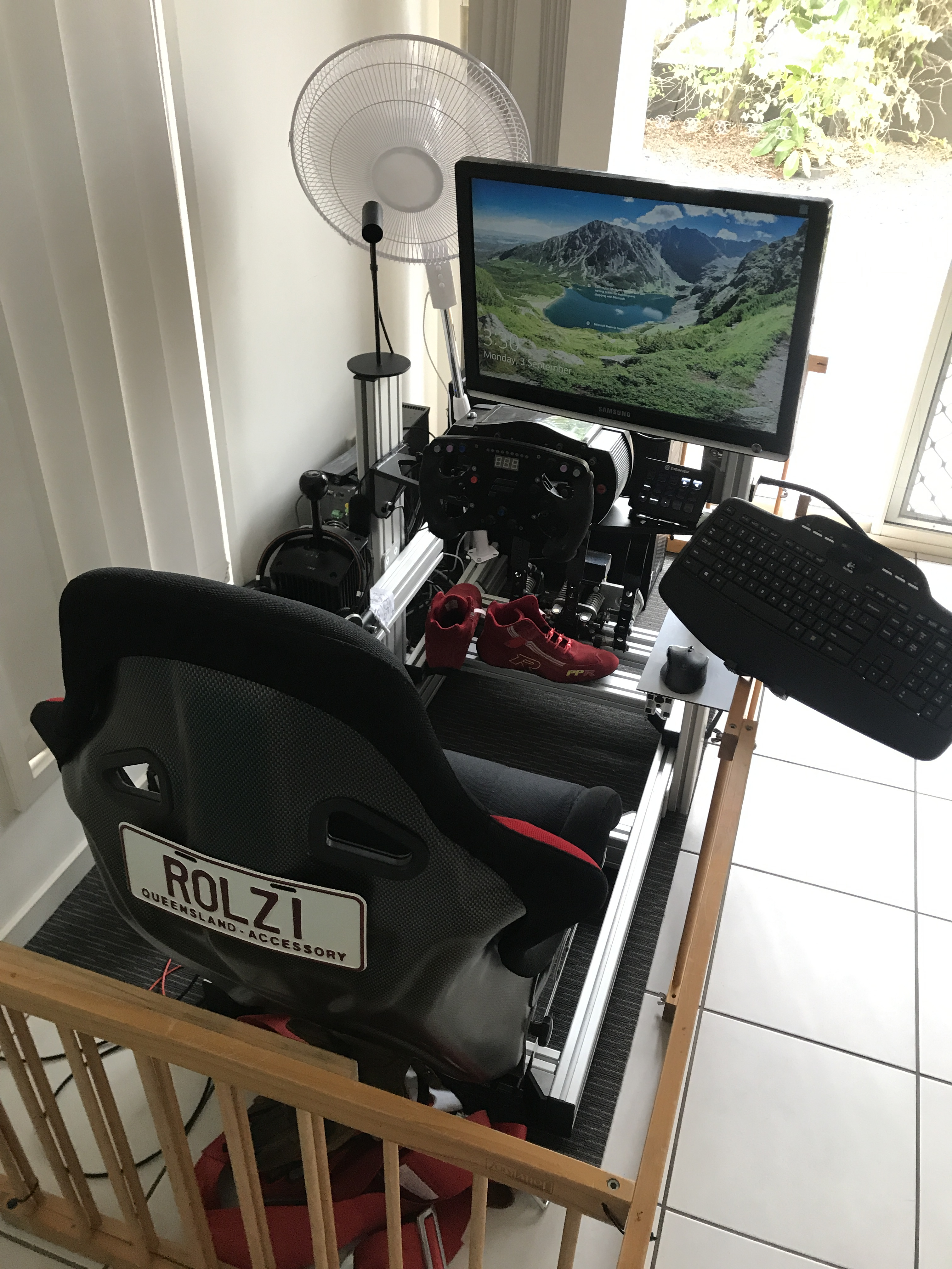sitting down — Oculus