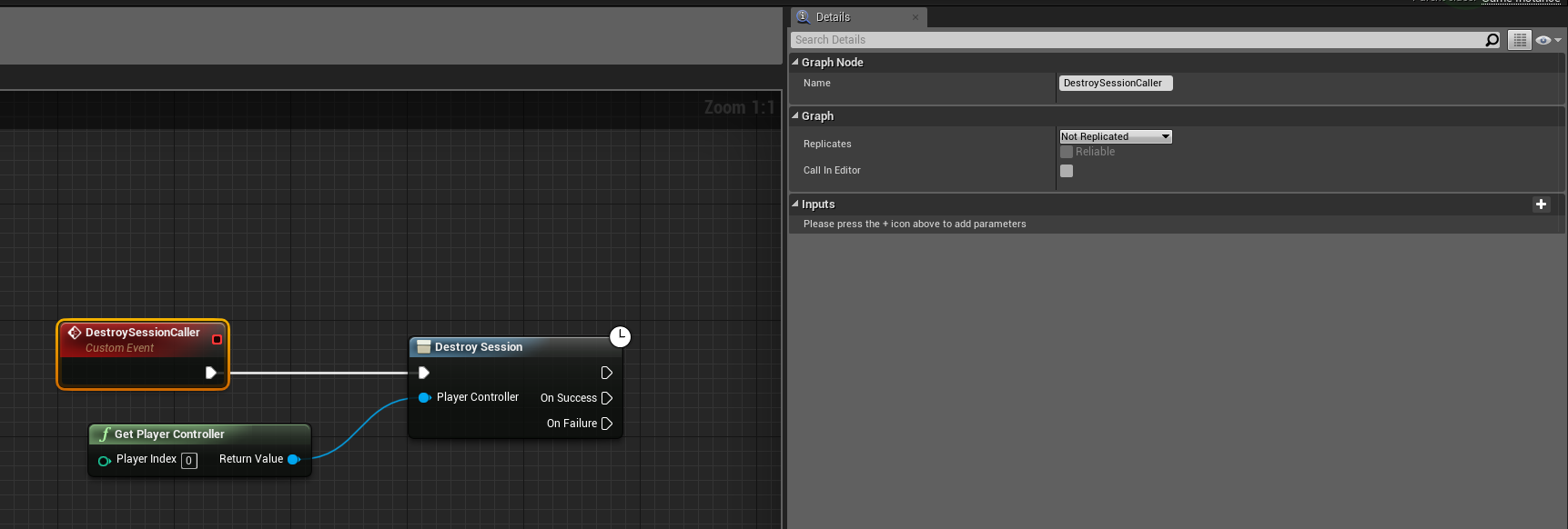 Destroy Session not working on Source Unreal Engine 4 22