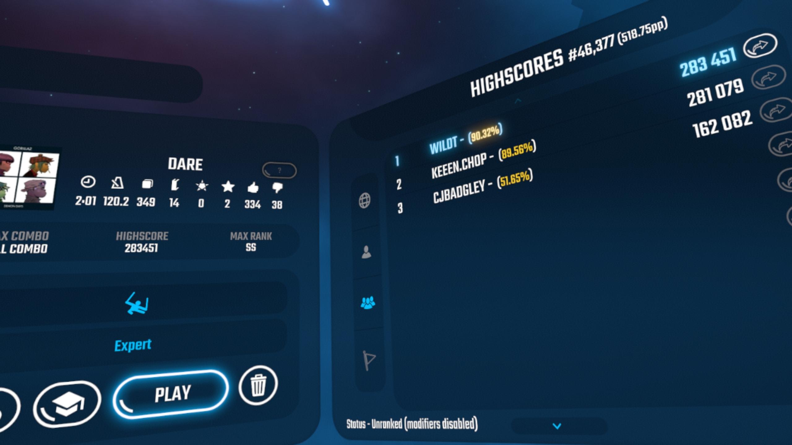 Beat Saber - Community Rankings! - Page 13 — Oculus