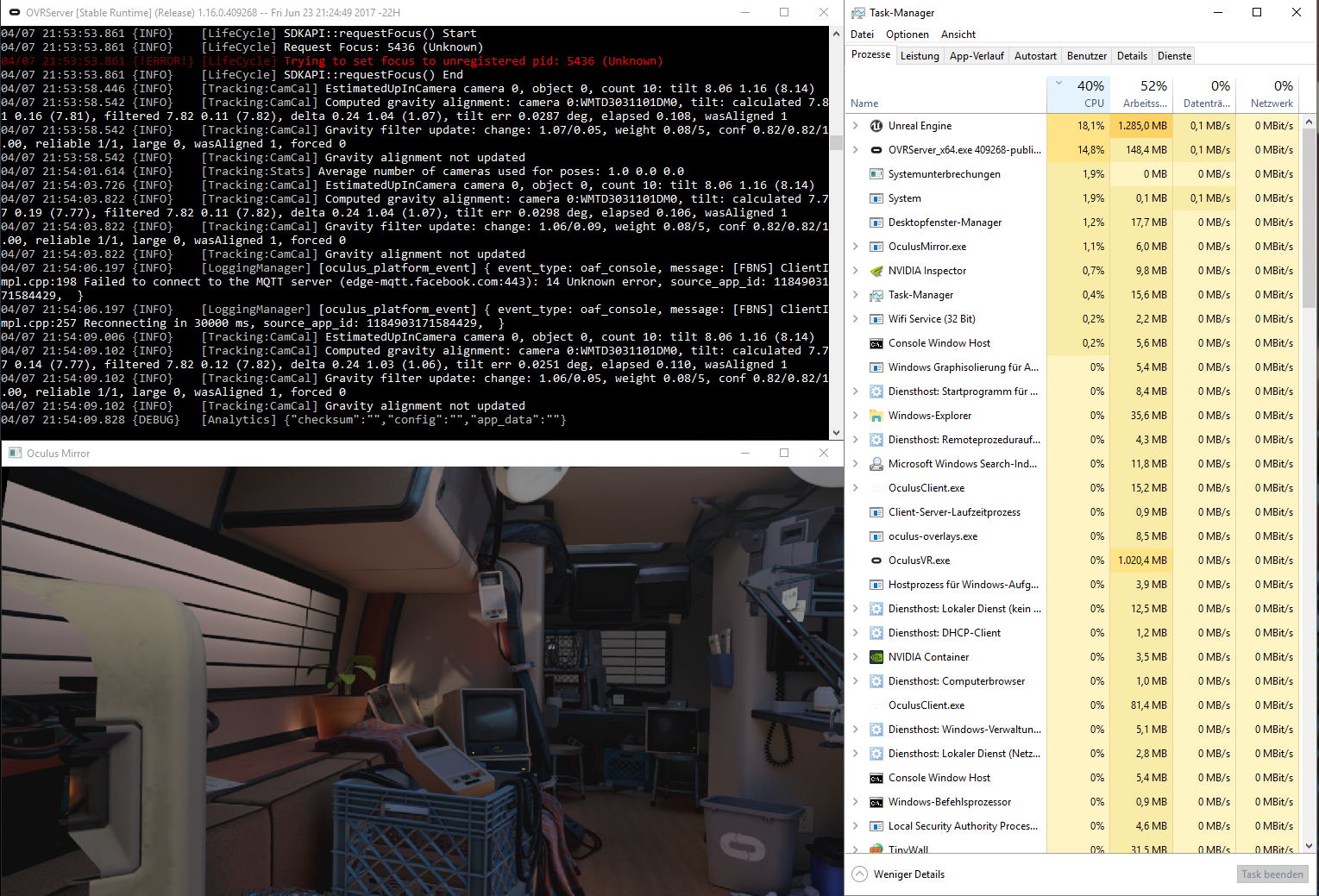 console windows host cpu