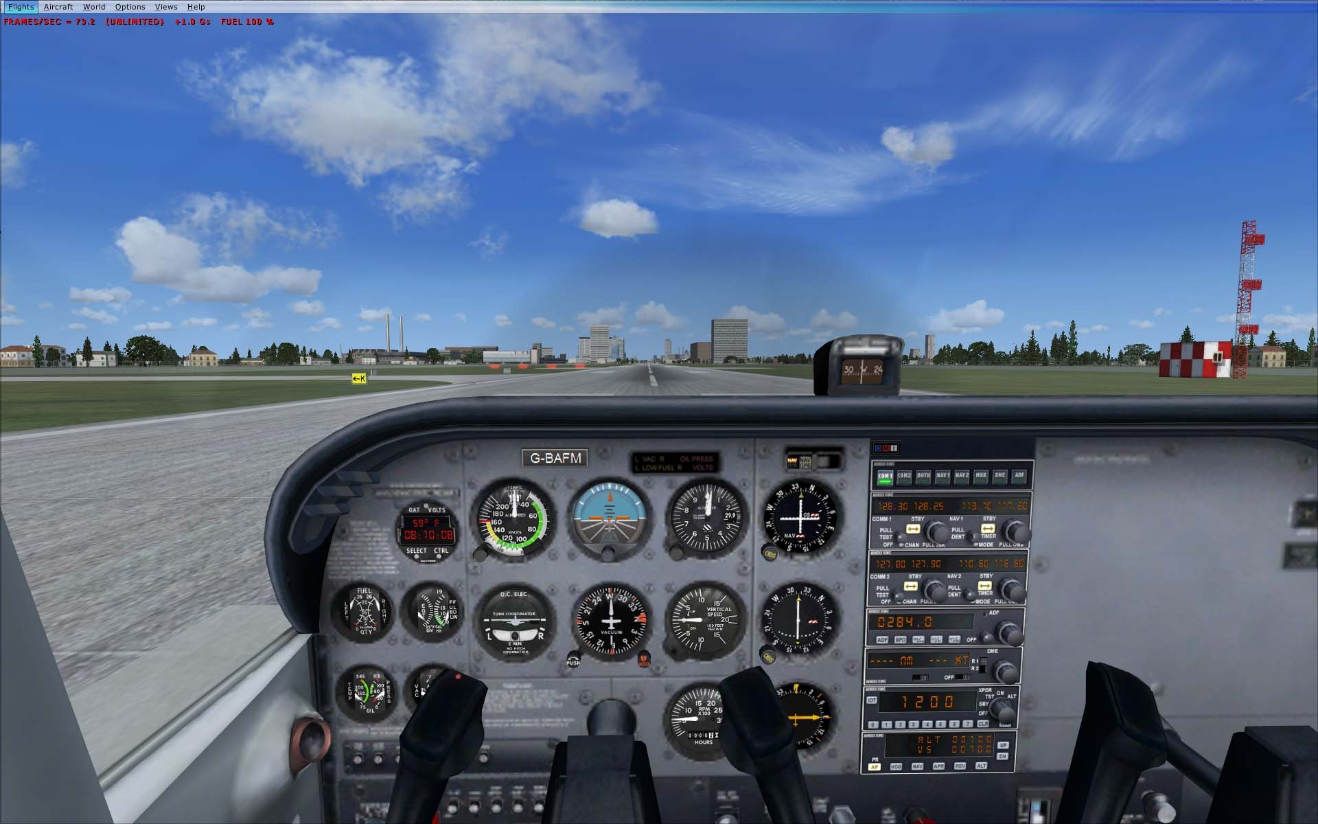 Oculus Go Flight Simulator