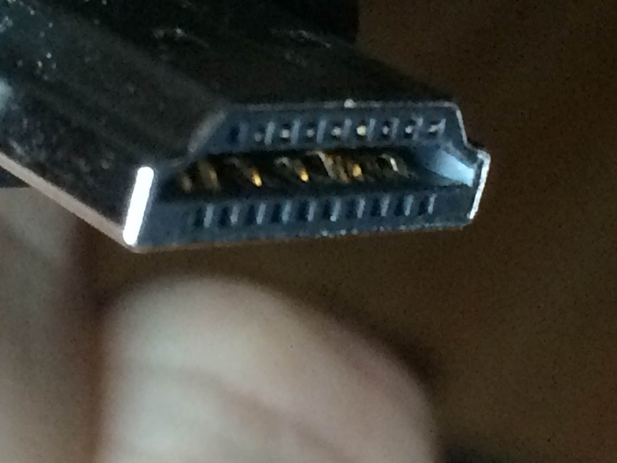 Photographic Proof Of The Cause No Hdmi Detected Oculus Pin Wire Diagram Oc2