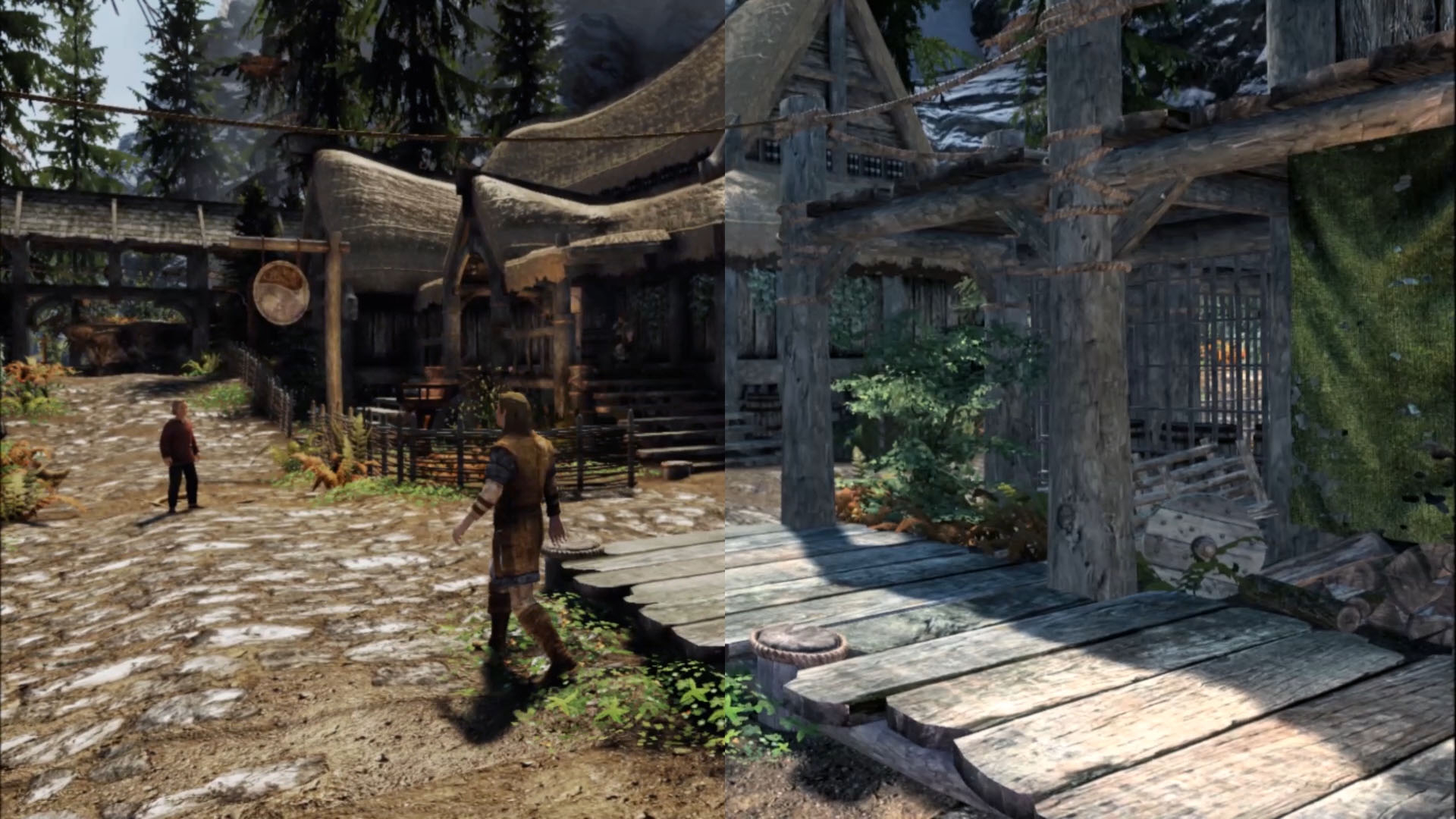 Skyrim VR now supports Ambient Occlusion and Simple global