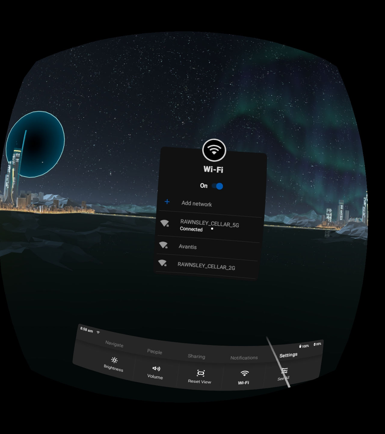 Proxy Settings for Wifi Networks on Oculus Go — Oculus
