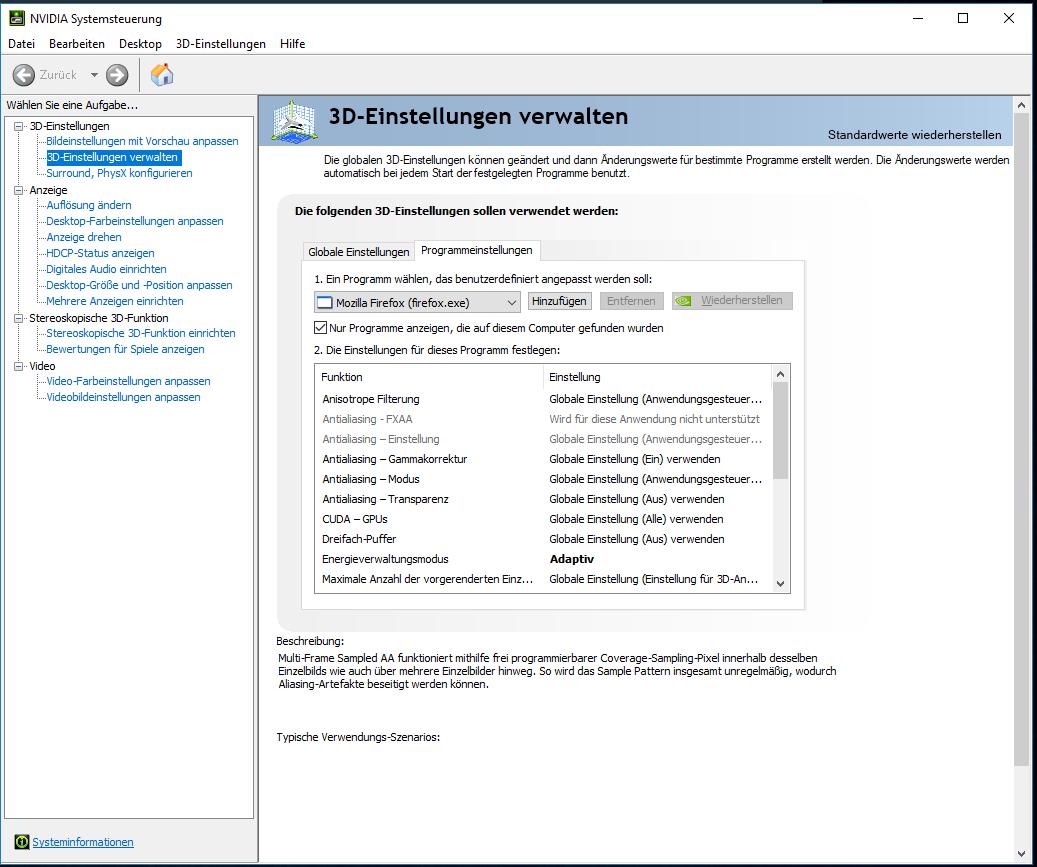 Desktop-Website anpassen