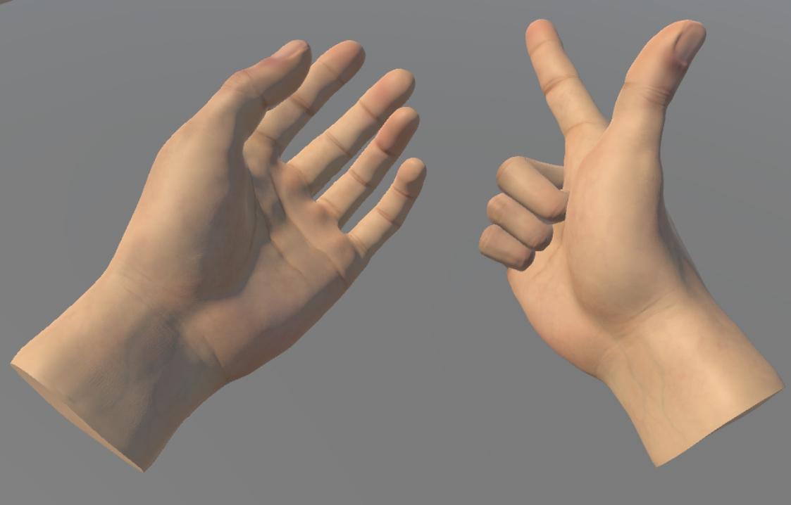 Hand Rig Maya
