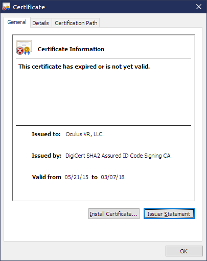 how to get around sec_error_expired_certificate