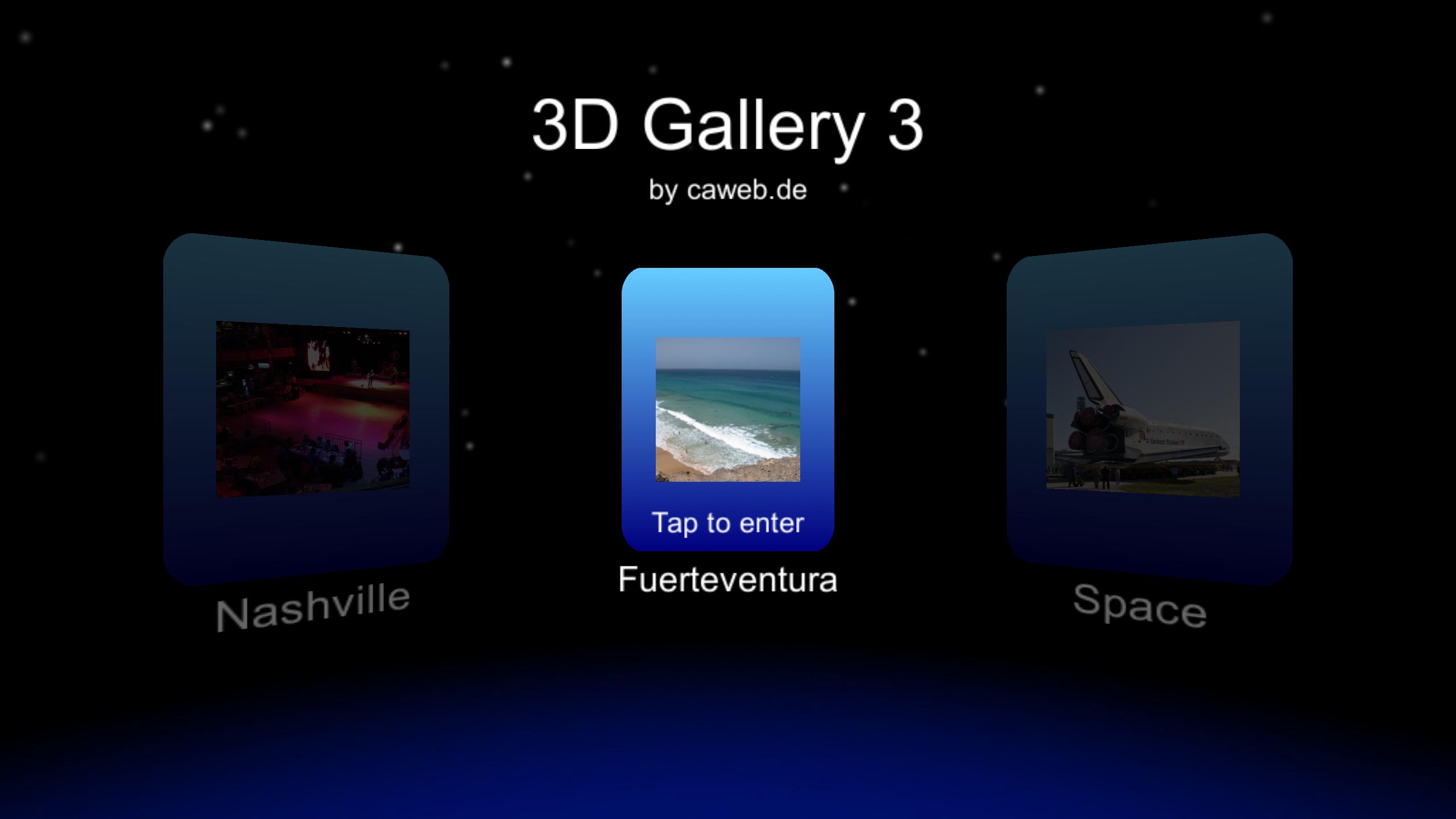 3D Gallery 3 [Gear VR] — Oculus