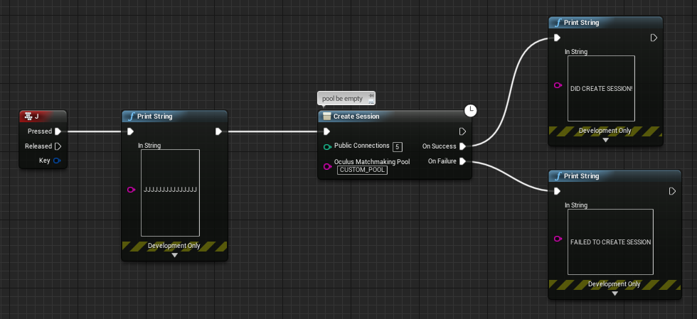 SOLVED] Can't find the Sessions with Unreal blueprint nodes  — Oculus