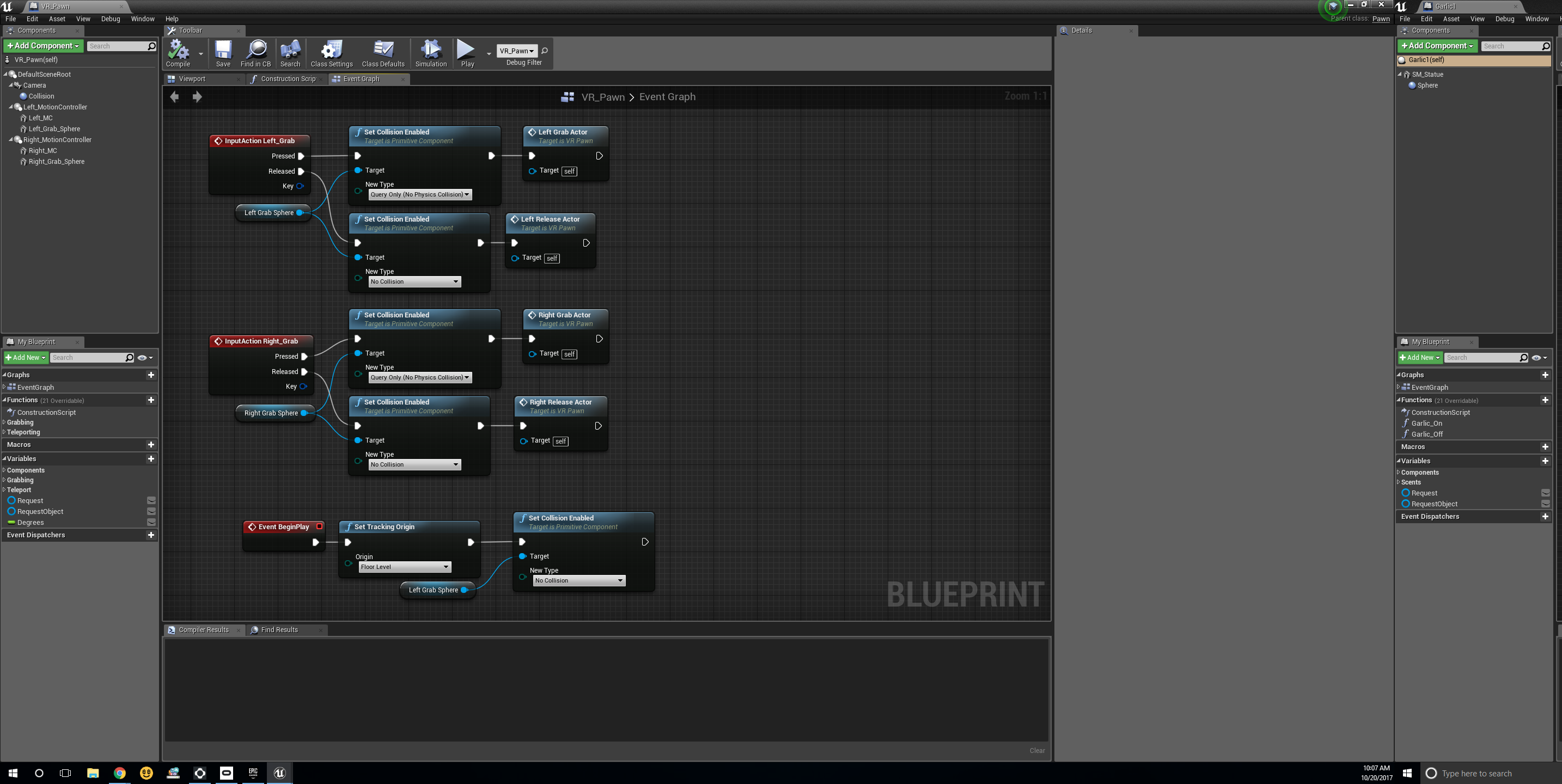 Pickup object and call function independently for each object oculus this is my blueprint malvernweather Images