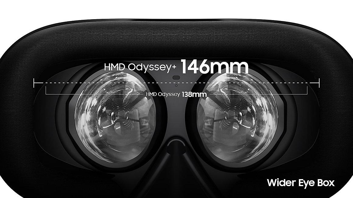 No more Screen Door Effect (SDE) - new Samsung Odyssey+ introduces