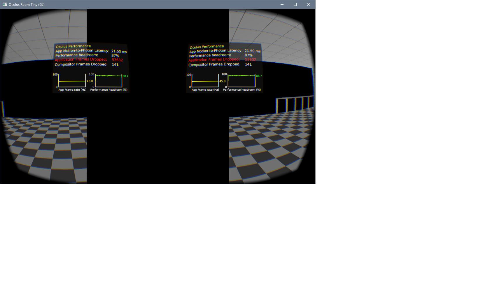 ASW Black Bar Flickering in Each Eye (OpenGL) — Oculus