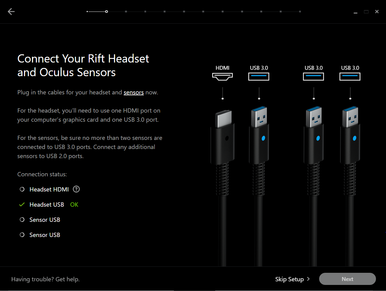 Rift HDMI is Not Being Detected on Win10 x64 - Page 2 — Oculus