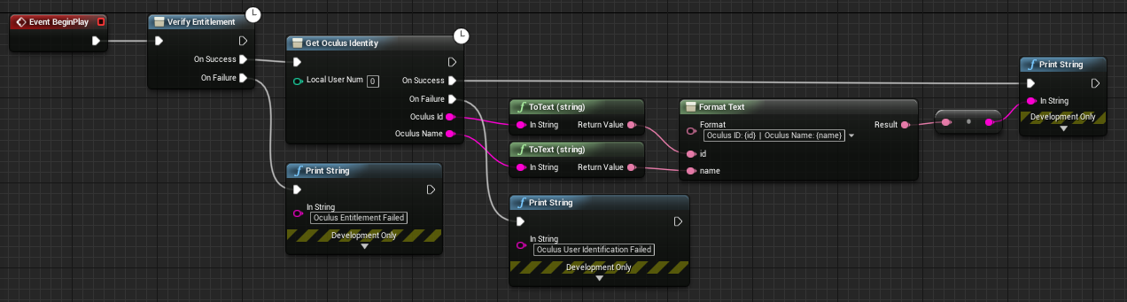 Cannot get basic project to work in UE4 — Oculus