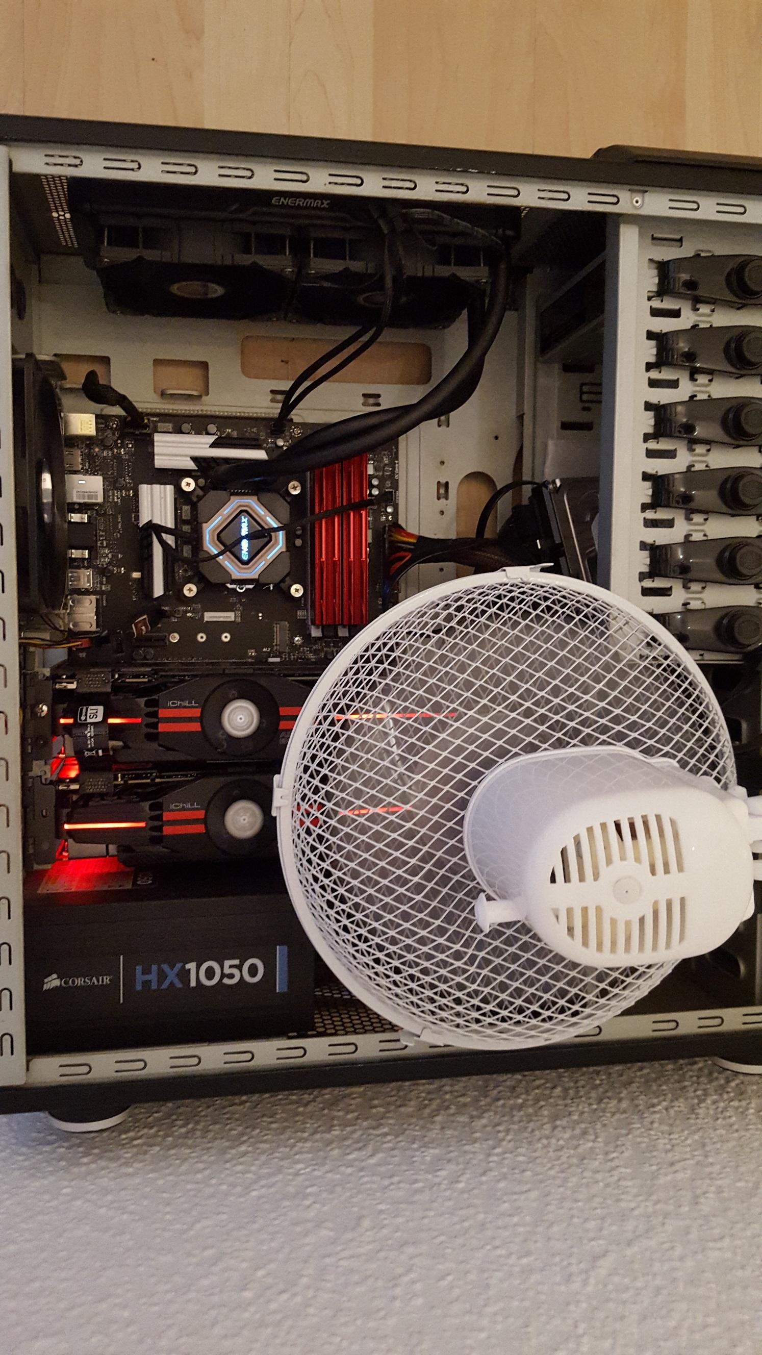 Subnautica makes my GPU get stupid hot (!) — Oculus