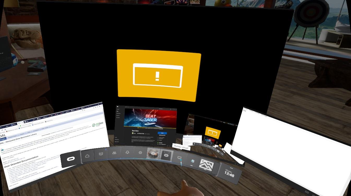 Oculus Home virtual desktop bug — Oculus