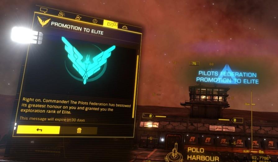 Elite Dangerous Rank Up Federation