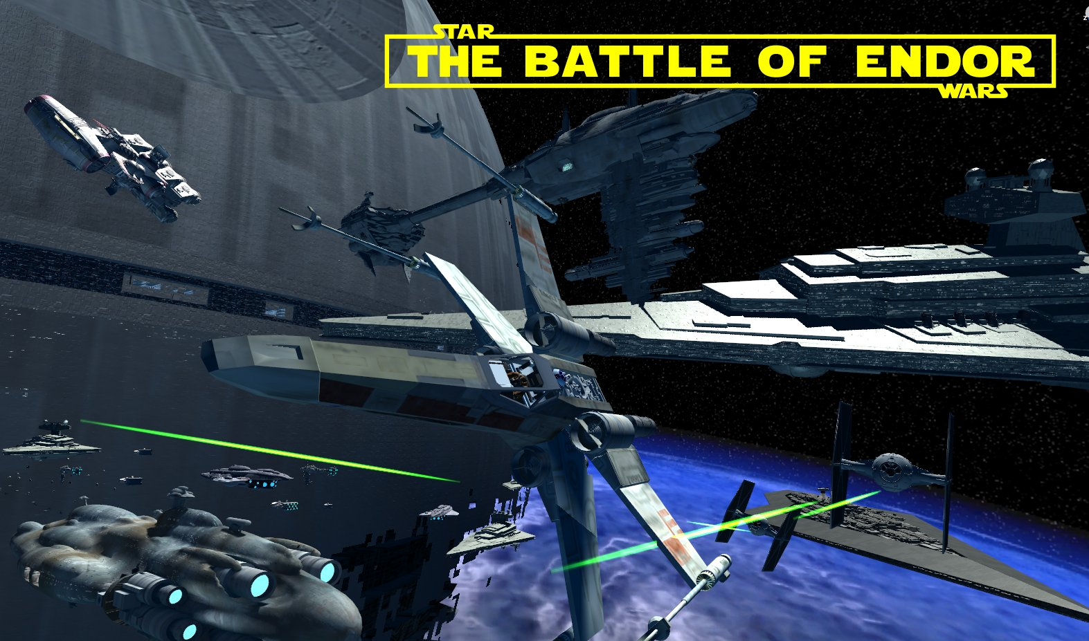 Image result for star wars the battle of endor oculus