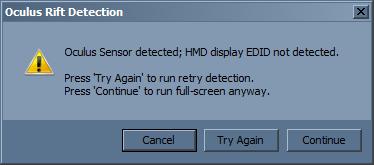 Nvidia Surround, Triple monitor Setup, EDID not detected — Oculus