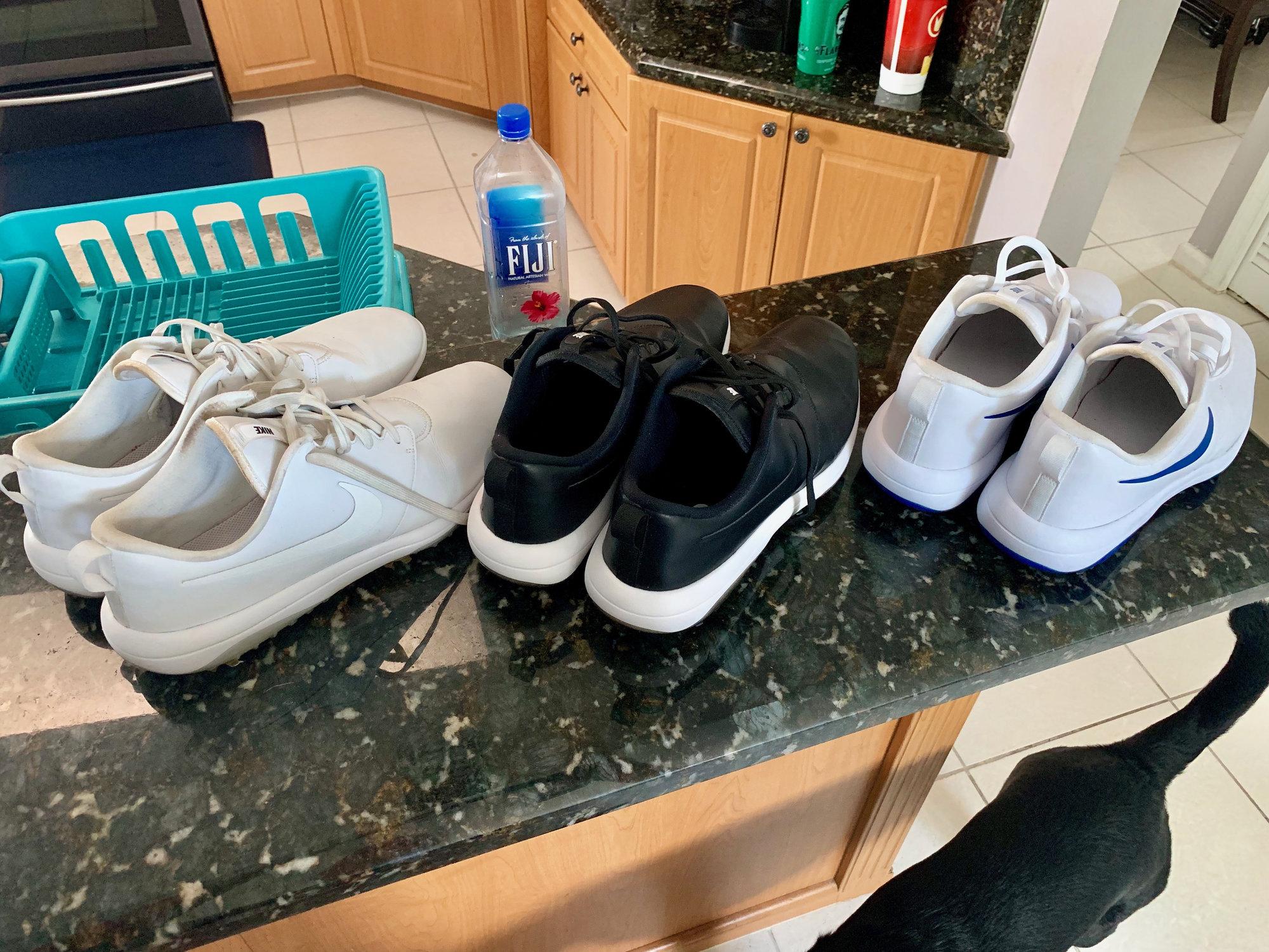 6c0af4d7bdc 3 pair of Nike Roshe G Tour (size 13 wide) — GolfWRX