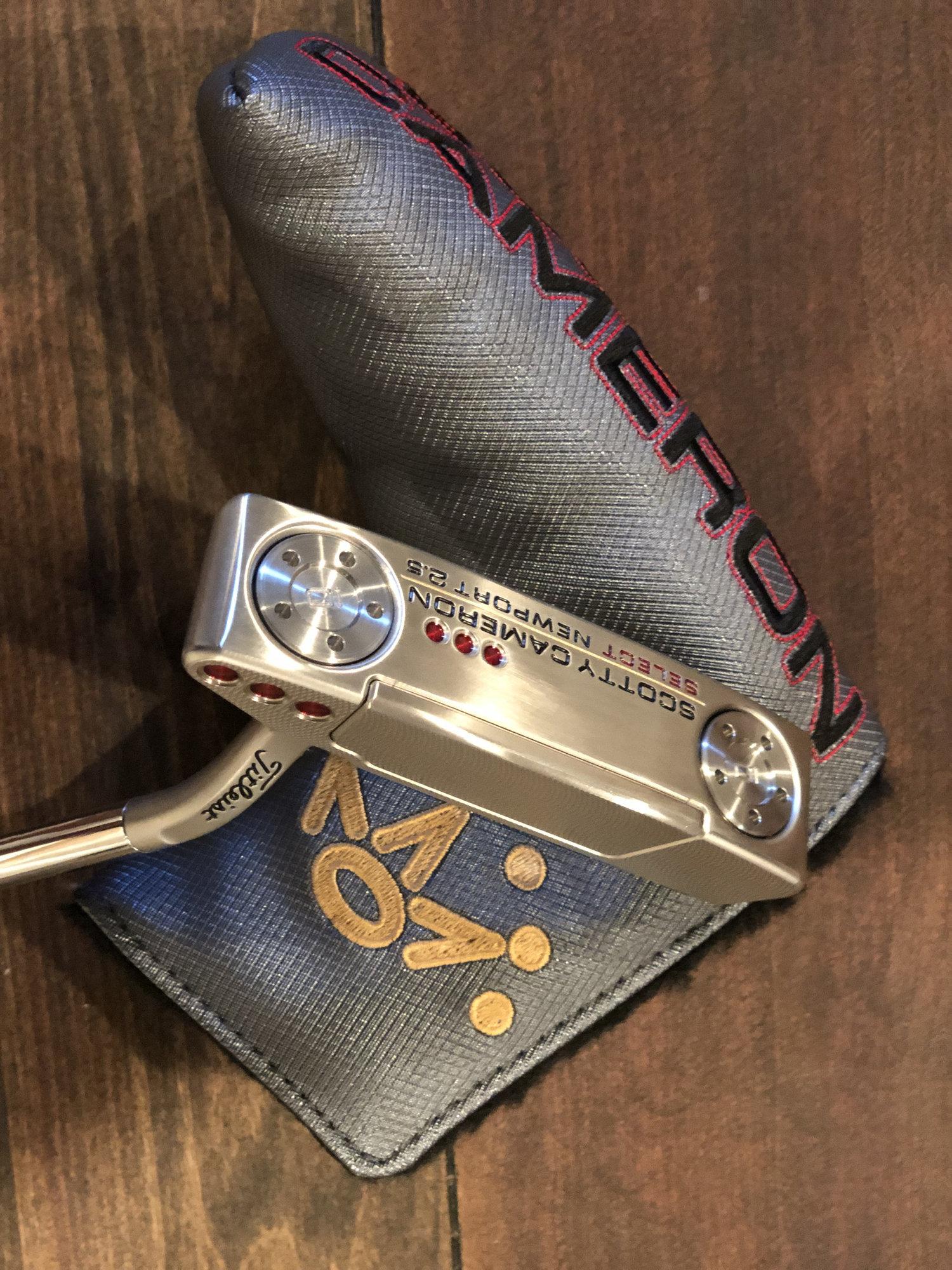 "2018 Scotty Cameron Newport 2 5 35"" - Nike Braided Belt and"