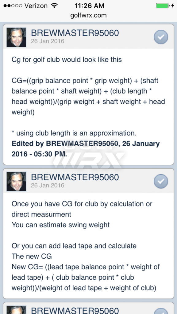 Diy Ascending Weight Shafts Golfwrx