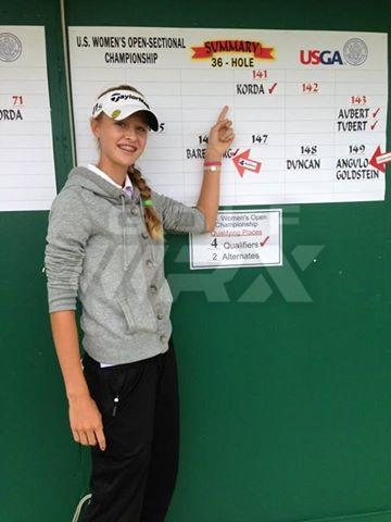 Nelly Korda Qualifies For Womens Us Open Golfwrx