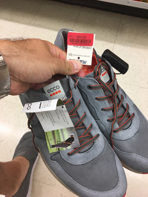 Under Armour golf shoes at Marshalls