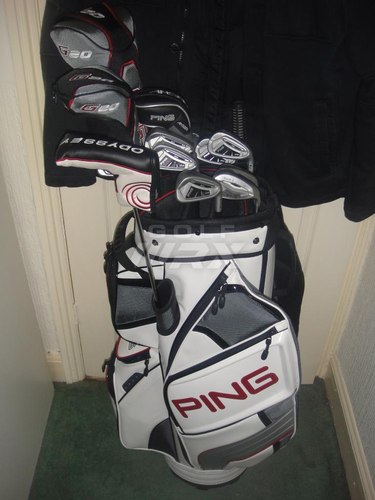Clicgear 3 0 And Ping Dlx Cart Bag Golfwrx