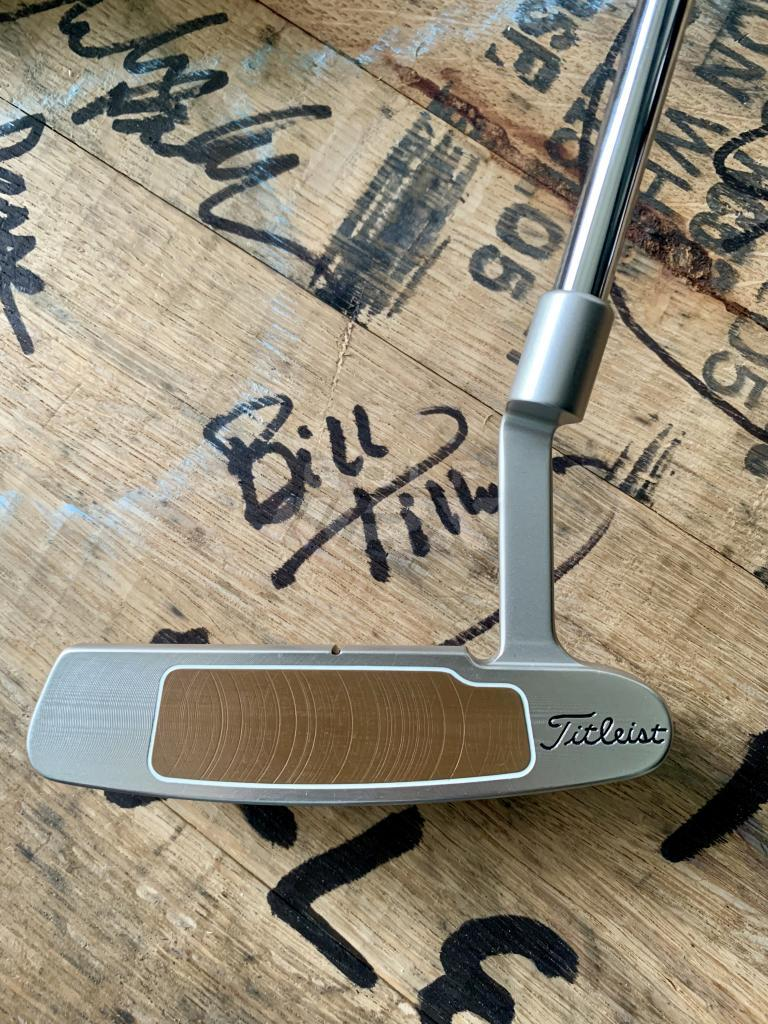 Scotty Cameron Button Back w/ Circle T Weights, TM M2 Tour 3 Wood