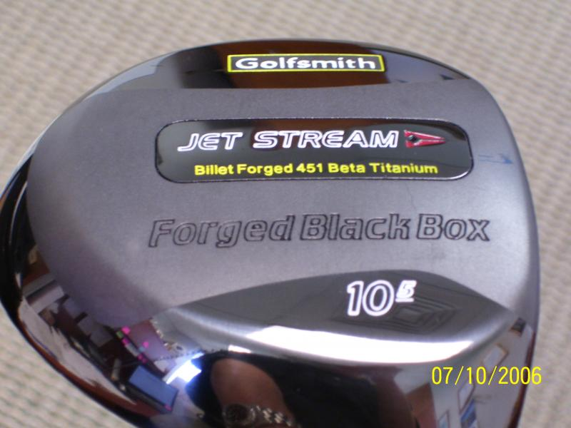 DRIVERS FOR GOLFSMITH JETSTREAM