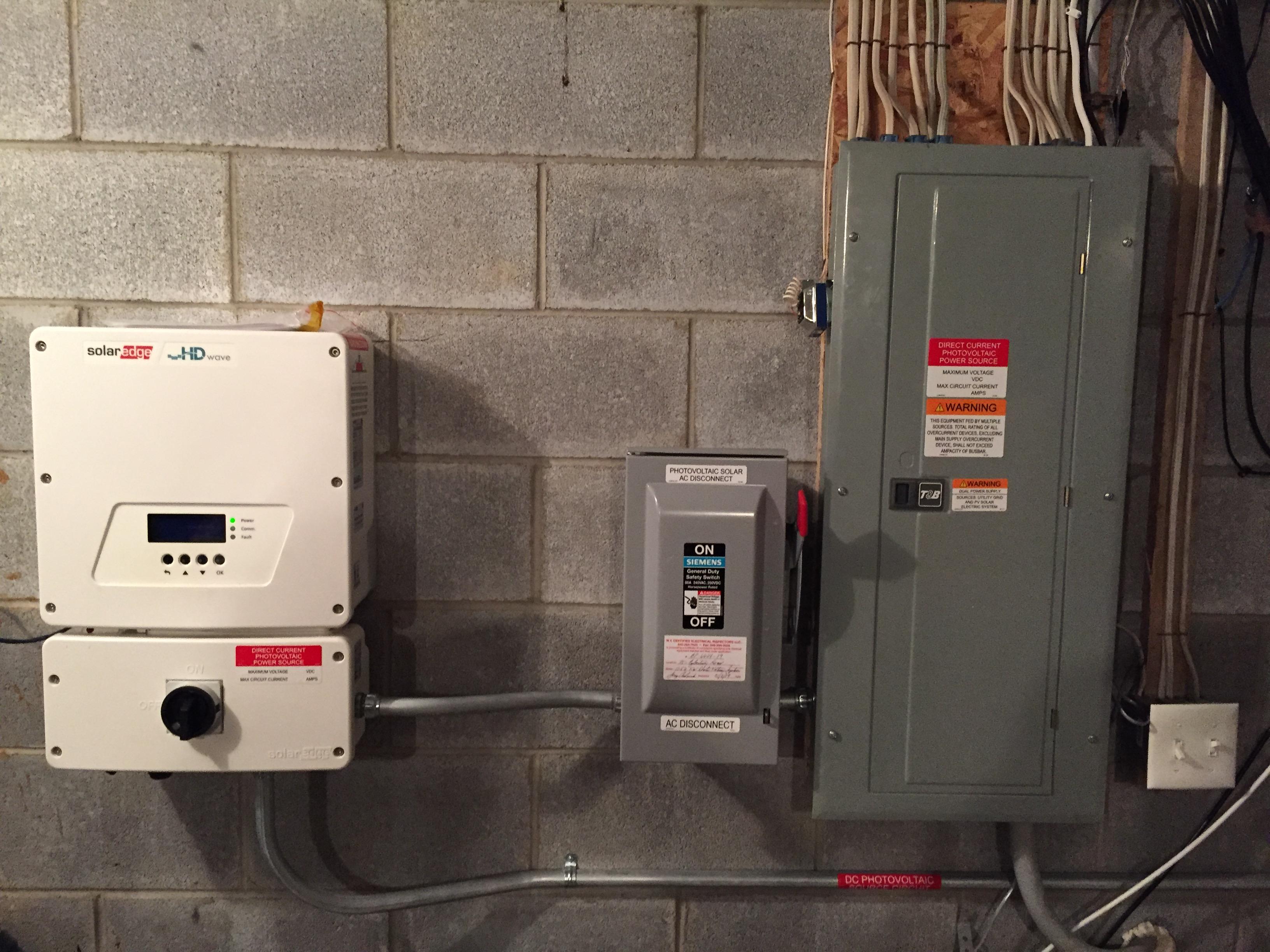 A/C Disconnect blows 1 of 2 fuses — northernarizona-windandsun