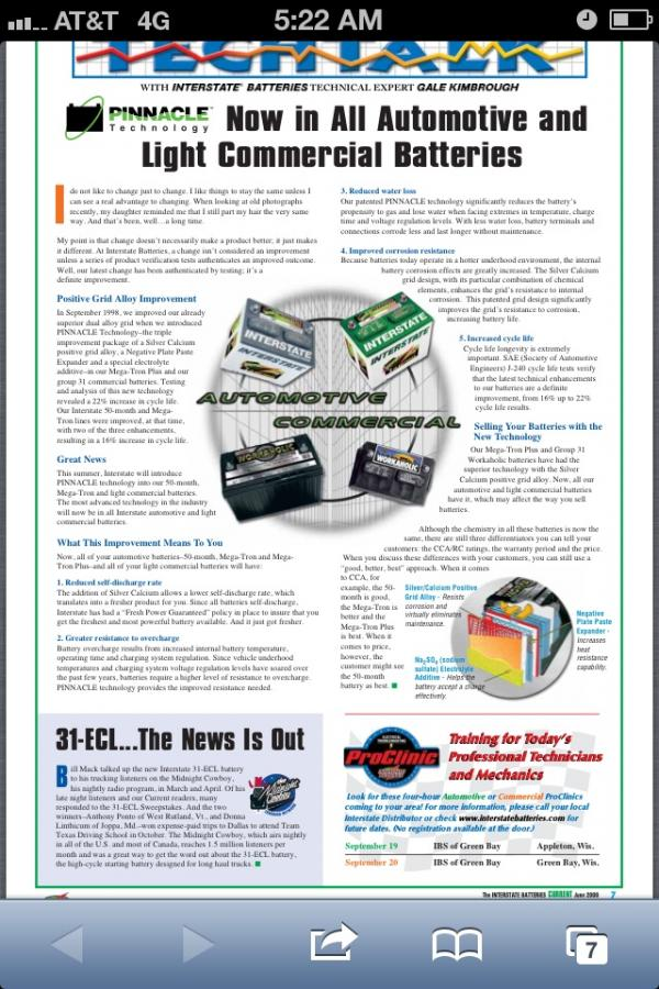 Who Makes Interstate Batteries >> Sam's Club Golf Car Batteries - Price and Opinion check ...