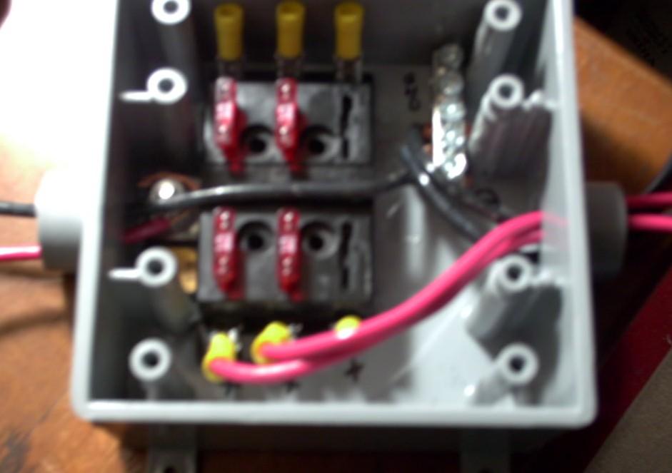 My  25 Combiner Box   With Fusing    U2014 Northernarizona