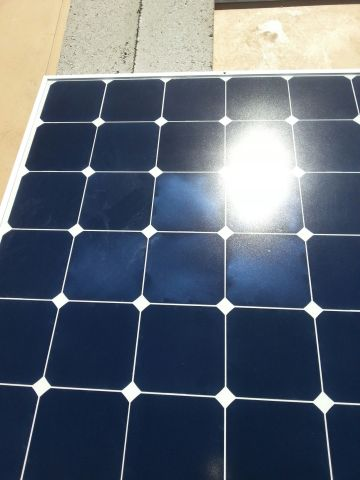 Sunpower Solar Cell Discoloration Northernarizona Windandsun